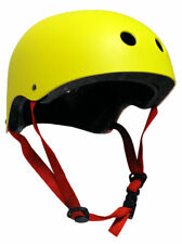 CPSC Skateboard Fitness Inline Helmet ADULT OSFA YELLOW/RED