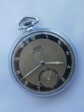 Tissot Cal.43 swiss two tone dial men's military mechanical vintage pocket watch