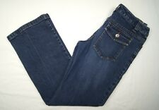 Womens Context Jeans Petite Size 4P Back Flap Pockets Stretch W30 L29  A1P