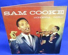LP SAM COOKE - WONDERFUL WORLD // ALLROUND TRADING 2-LP