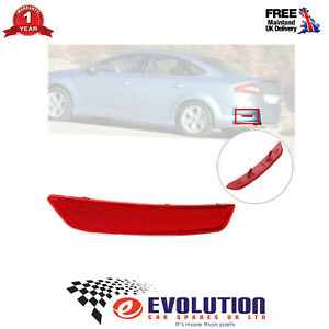 Rear Bumper Reflector LH Left Side Fits Ford Mondeo Mk4 2007 to 2010 1491915
