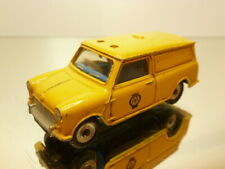 DINKY TOYS 274 MINI VAN - AA PATROL SERVICE - YELLOW 1:43 - GOOD CONDITION