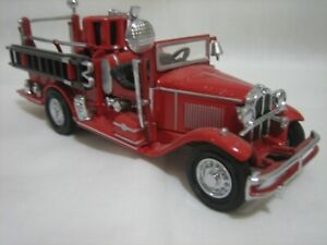 Matchbox Models of Yesteryear, YFE-09, 1932 Ford AA Open Cab Fire Engine