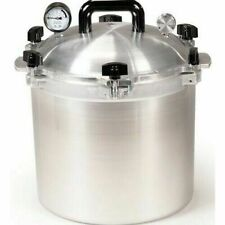 All American 921 21.5 Qt Heavy Cast Aluminum Pressure Cooker / Canner