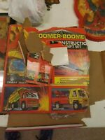 Vintage Topper Toys 1970 Zoomer Boomer Construction Set In Original Box