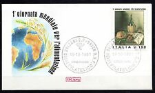 Italy - 1981 Food Day / Painting - Mi. 1778 clean unaddressed FDC
