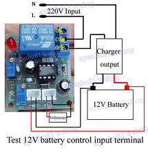 12V Intelligent Charger Module Power Supply Controller Board Automatic Charging