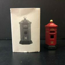 English Post Box | Heritage Village | Department 56 | 58050 | Cib