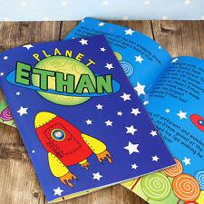 STAR il vostro bambino in questo spazio razzo storia libro ragazzi personalizzato AVVENTURA