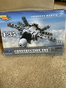Lockheed Martin F-35 124 Piece Construction Toy