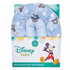 Infant Head Support~Blue~Machine Washable~New~Disney~Micke y Mouse~