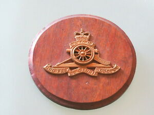 Emblem - Ubique Quo fas et gloria Ducunt - Militaria - Nautika - Artillerie