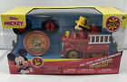 Mickey Mouse Disney Junior Fire Truck Remote Control RC 3+ 2.4 GHz New I