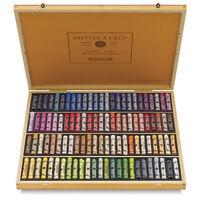 Sennelier Soft Pastels - Professional Artists Pastels - 100 Wooden Box Portrait