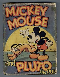 Mickey Mouse and Pluto the Pup HC #1-1ST FR/GD 1.5 1936