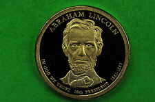 2010-S GEM Proof( Abraham Lincoln)Deep Cameo US Presidential One Dollar Coin