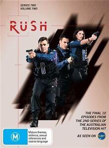 Rush Series Two Volume Two DVD (Set) Australian Cop TV Show RARE - Channel 10