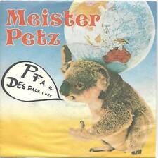 Single / MEISTER PETZ / WILFRIED SCHEUTZ / RARITÄT /