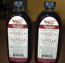 Rawleigh Double Strength Vanilla   12 fl. oz.(X2)