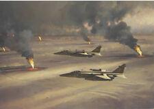 Sepecat Jaguar RAF Gulf War Jet Fighter Aircraft Plane Birthday  Card