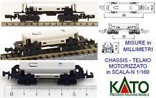 Train N Chassis moteur À boggies Kato