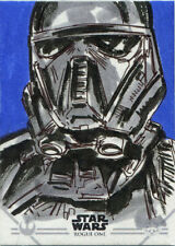 Star Wars Rogue One Series 1 Sketch Card Brian Kong of Death Trooper