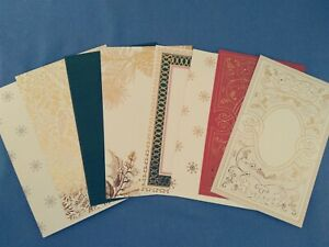 Anna Griffin Christmas Cardstock Layers Set of 8 Card Making