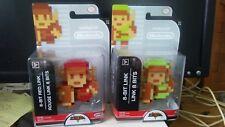 8-bit Link The Legend of Zelda Character Figure & 8-Bit Red Link Figure