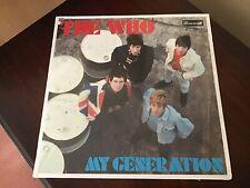 THE WHO 'MY GENERATION' VINYL LP