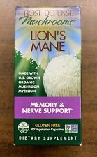 Host Defense Mushrooms Lion's Mane Memory & Nerve Support - 60 Veggie Caps