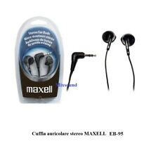 MAXELL Microcuffia cuffie cuffiette auricolari stereo per musica MP3 iPod iPhone
