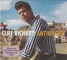 Anthology [Digipak] * by Cliff Richard (CD, Feb-2011, 3 Discs, Not Now Music)