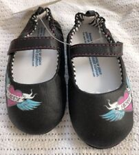 Baby Black Shoes Classic Mary Jane BNWT Shower Gift 18-24m Daddy Mommy