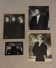 More details for duran duran 3 x photo & 1 x postcard set 1986 uk pop new romantic vintage rare