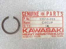 Kawasaki NOS NEW  92033-025 Circlip Snap Ring 25mm Z1 S1 S2 S3 F3 F4 1968-2015