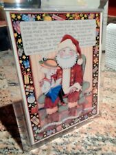 Mary Engelbreit Christmas Musical Framed Card It Can'T Hurt To Ask