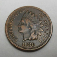 1880 P Indian Head Cent Penny  *XF - EXTREMELY FINE*  #1
