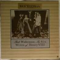 "RICK WAKEMAN (YES) ""The Six Wives of Henry VIII""  1973 LP  Shrink wrap  Gatefold"