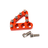 Rear Brake Pedal Step Plate Tip For KTM EXC EXCF XC XCF XCW XCFW Dirt Pit Bike