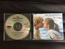 THE TEMPTATIONS MY GIRL 3 TRACK CD SINGLE