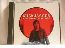 MICK JAGGER & LENNY KRAVITZ God Gave Me Everything Virgin promo only DJ CD