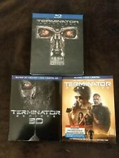 Terminator 1-6 Complete Collection Blu-Ray (Includes digital for T6)