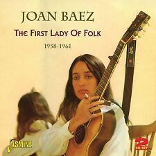 JOAN BAEZ - FIRST LADY OF FOLK 2 CD NEU