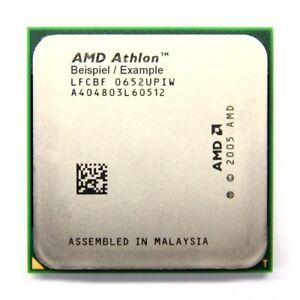 AMD Athlon X2 7550 2.5GHz/1MB Socket/Socket AM2/AM2 +AD7550WCJ2BGH CPU Processor