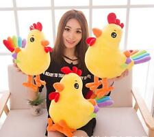 2018 Chinese Year of the Rooster mascot  plush toys birthday Xmas part gift 30cm