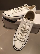 Converse Shoes All Star women's size 6/UK 4/EU 36.5 - Leather White