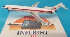 InFlight200 Boeing 727-200 Twa ' Trans Monde Airlines' N12304 (avec Socle )