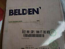Belden 8522 0081000 Hook Up Wire 1000ft 18awg Copper Gray