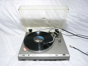 Hitachi HT- 354 Direct Drive Turntable Tested Japan with empire 2000 E