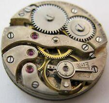 Swiss Cretets Cleo Watch round movement 15 jewels 2 adj. for parts
